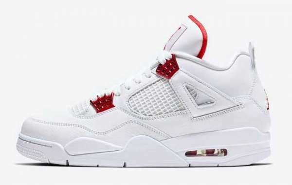 Latest Air Jordan 4 Red Metallic 2020 to release on May 16th