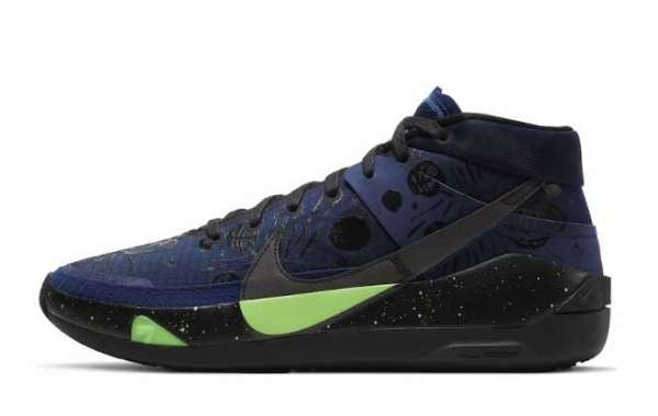 Shop The Planet of Hoops CI9948-400 Nike KD 13s 2020