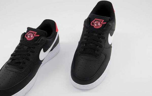 Buy Nike Air Force 1 07 Black Crimson