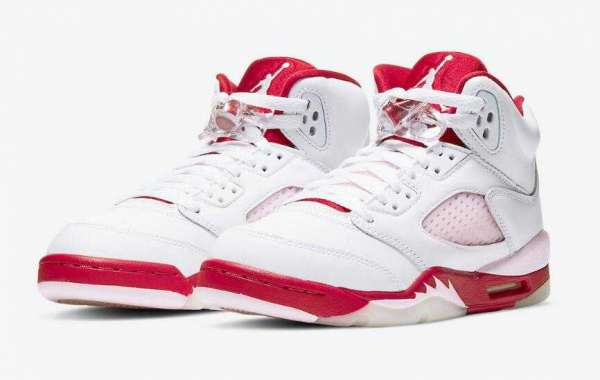 Ladies Air Jordan 5 GS Pink Foam to Release on October 9, 2020
