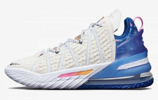 Nike LeBron 18 Los Angeles By Day to Release on Nov 6th, 2020