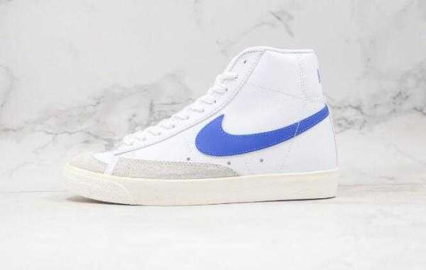 New Nike Blazer Mid 77 VNTG White Blue is Available Now