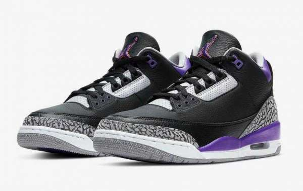 Air Jordan 3 Court Purple to Release on November 21, 2020