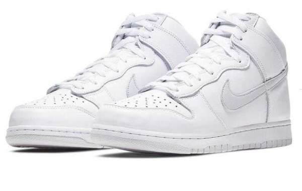 2020 Best Selling Nike SB Dunk High Pure Platinum for Sale