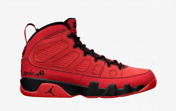 """Latest Release Air Jordan 9 """"Chile Red """" For Sale CT8019-60"""