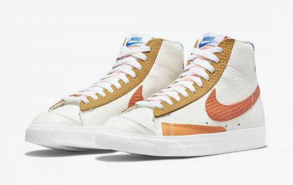 "Brand New Nike Blazer Mid '77 ""Campfire Orange"" Coming Soon"