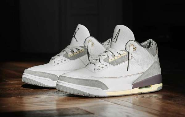 """A Ma Maniere x Air Jordan 3 Retro SP """"Violet Ore Officially released on March 30th"""