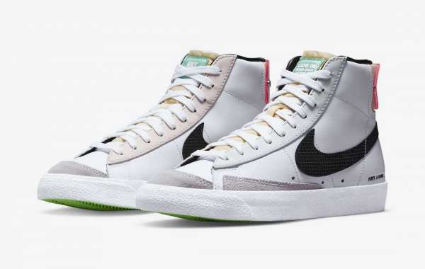 """DO2331-101 Nike Blazer Mid """"Have A Good Game"""" Sneakers"""