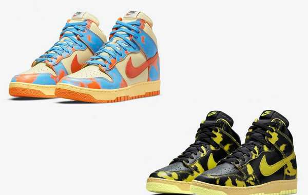 Super suction eye hit color styling! Two new Dunk Highs are here!